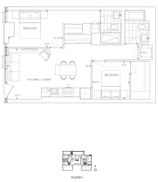 Floor Plan B2 - Havering