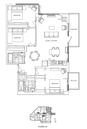 Floor Plan A3 - Hounslow II