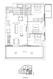 Floor Plan A3 - Hounslow III