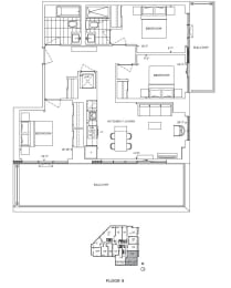 Floor Plan A3 - Hounslow