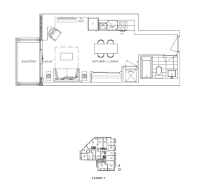 Floor Plan A - Kensington IV