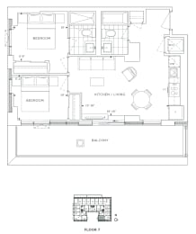 Floor Plan B2 - Kingston II