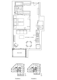 Floor Plan A1 - Lambeth II