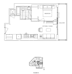 Floor Plan A1- Lambeth III