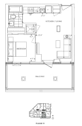Floor Plan A1 - Lambeth V