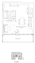 Floor Plan B - Lewisham II