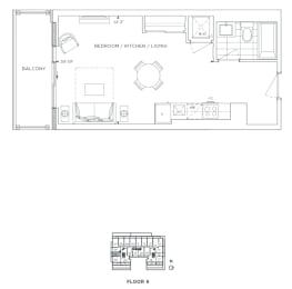 Floor Plan B - Lewisham III