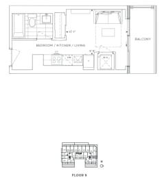 Floor Plan B - Lewisham IV