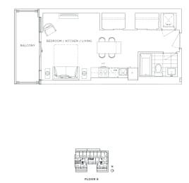 Floor Plan B - Lewisham