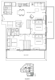 Floor Plan A3 - Merton II