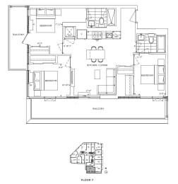 Floor Plan A3 - Merton III