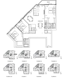 Floor Plan A3 - Merton