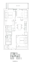 Floor Plan B2 - Redbridge II
