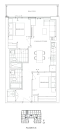 Floor Plan B2 - Redbridge III