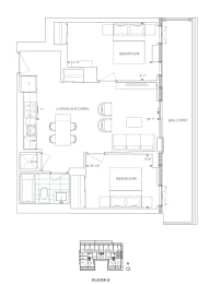Floor Plan B2 - Redbridge IV