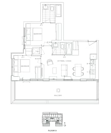 Floor Plan B2 - Redbridge V