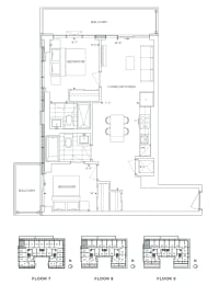 Floor Plan B2 - Redbridge VI