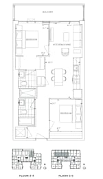 Floor Plan B2 - Redbridge