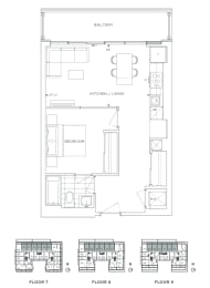 Floor Plan B1 - Richmond