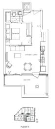 Floor Plan A1 - Southwark IV
