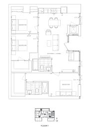 Floor Plan B3 - Waltham II