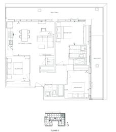 Floor Plan B3 - Waltham III