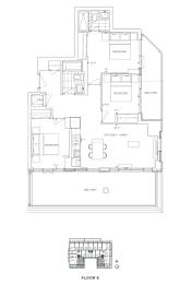 Floor Plan B3 - Waltham IV