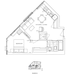 Floor Plan A1 - Wandsworth IV