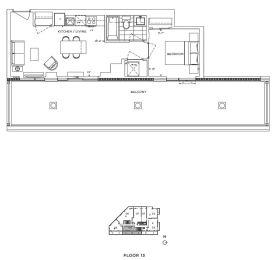 Floor Plan A1 - Wandsworth V