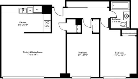 Duet Floorplan