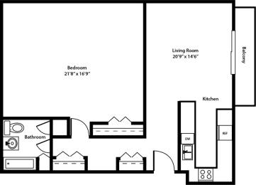 Encore Floorplan