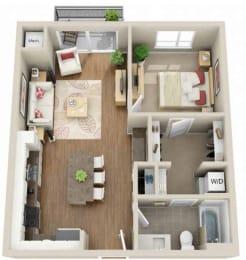 Floor plan at Martin Blu, Minnesota, 55344