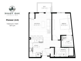 Floor Plan Pioneer - A4
