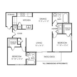 Floor Plan The Warrenton