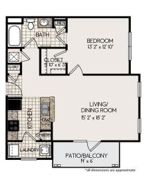 Floor Plan 1B Floorplan