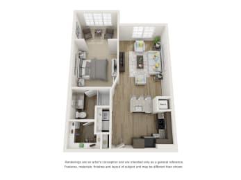 Floor Plan A1S