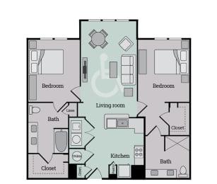 Floor Plan B1HCS