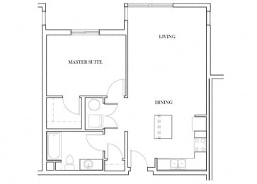 Bedford Floorplan at Discovery Heights, Issaquah, Washington