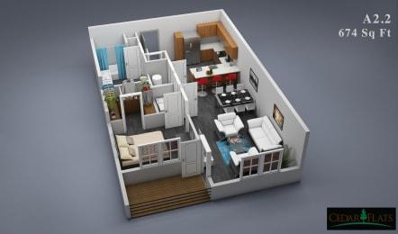 Floor Plan A-2.2