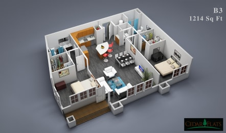 Floor Plan B-3
