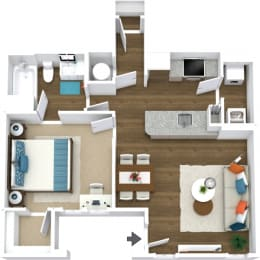Floor Plan Manor- A3-L