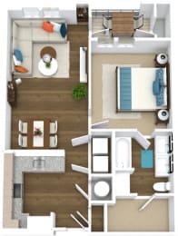 Floor Plan Flats A2