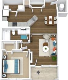 Floor Plan Manor- A3*-L
