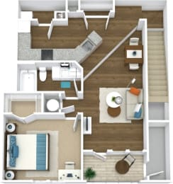 Floor Plan Manor- A5-U
