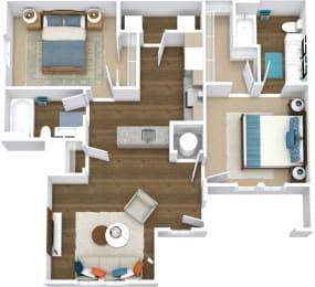 Floor Plan Manor- B1