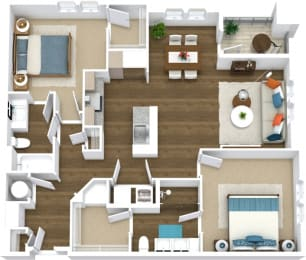 Floor Plan Flats B7