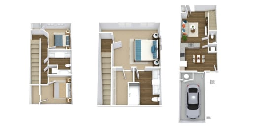 Floor Plan Townhome- TH2