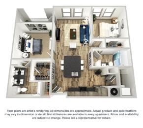 Floor Plan The Indigo