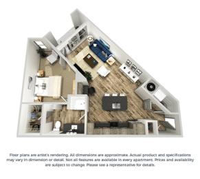 Floor Plan The Tawny