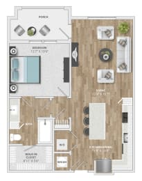 Floor Plan Biltmore